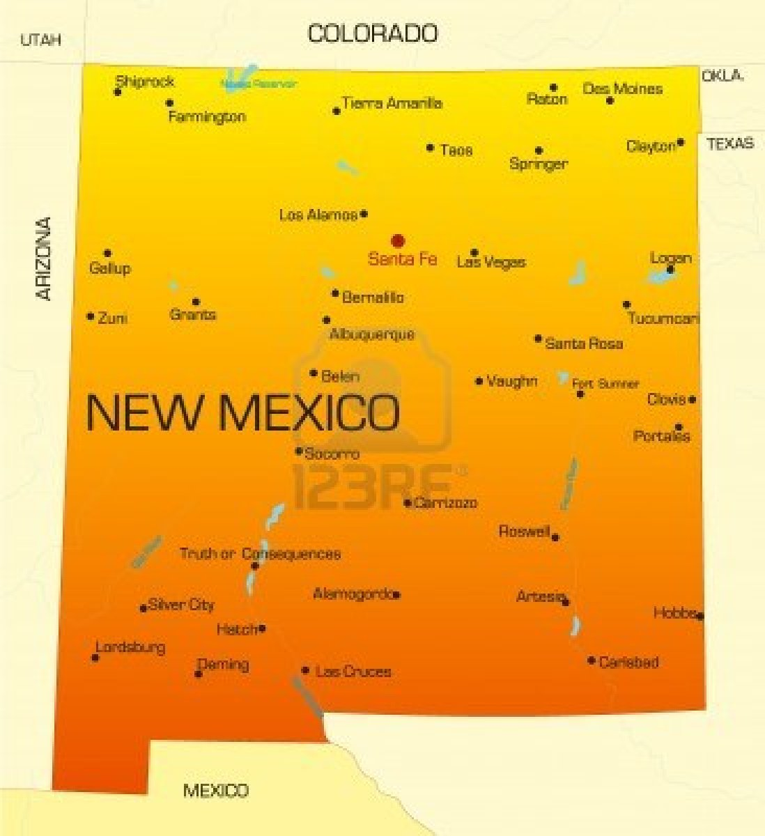 statehood of new mexico Colonized by spain, the land that is now new mexico became us territory as part oft he gadsen purchase in 1853, though new mexico did not become a us state until 1912.